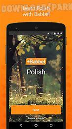 learn polish with babbel