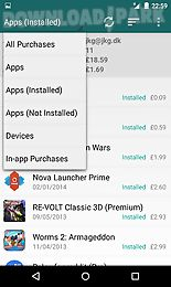 my paid apps