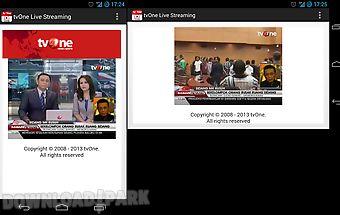 Tvone live streaming