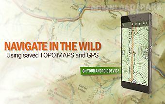 Backcountry nav topo maps gps