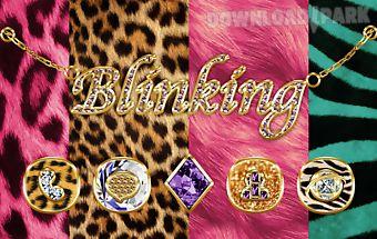 Blinking go launcher theme