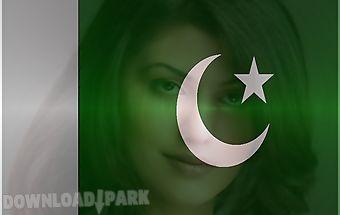 Pakistan flag face photo maker