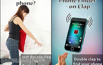 Phone finder - on clap