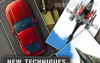 Simulator different techniques
