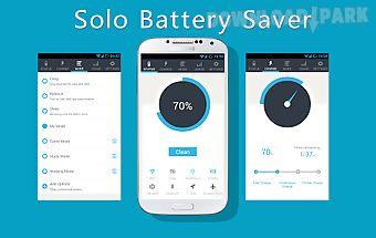 Solo battery saver