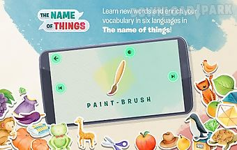 The name of things - for kids