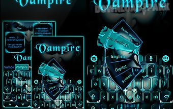 Vampire go keyboard theme