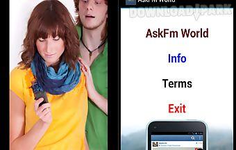 Ask_fm world