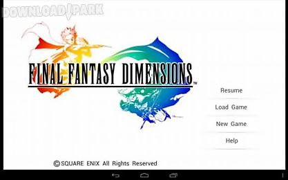final fantasy dimensions personal