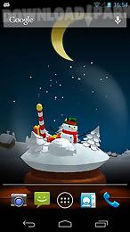 frosty snowman live wallpaper free