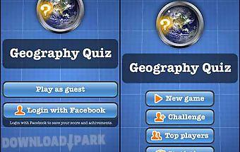 Geography quiz free