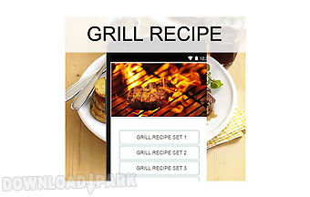 Grill recipes food