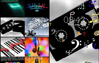 Music notes live wallpaperz