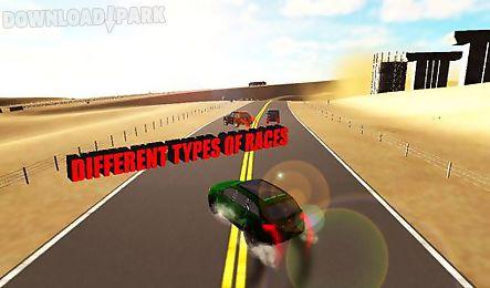 rally suv racing. allroad 3d