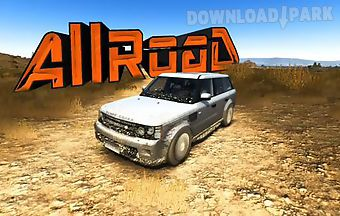 Rally suv racing. allroad 3d