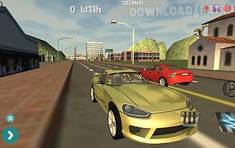 Car race simulator 3d