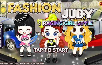 Fashion judy: racing-girl