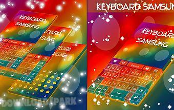 Keyboard for samsung galaxy
