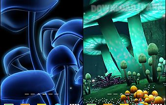 Magic mushroom live wallpaper