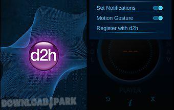 D2h smart remote app