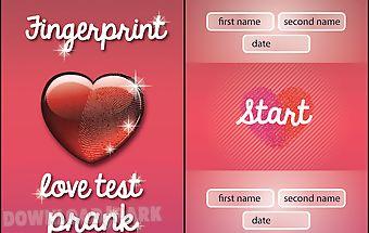 Fingerprint love test prank