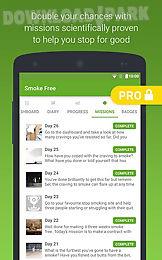 smoke free, stop smoking help