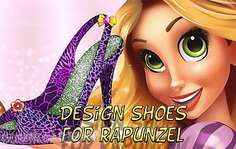 Design shoes for rapunzel