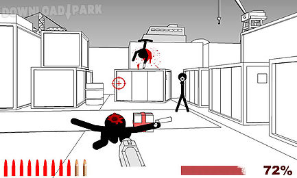 stickman shooting games