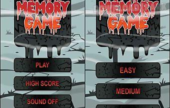 Zombie memory game app