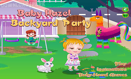 baby hazel backyard party