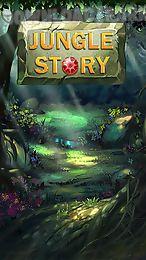 jungle story: match 3 game
