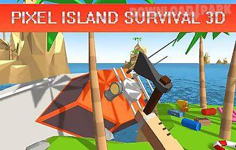 Pixel island survival 3d