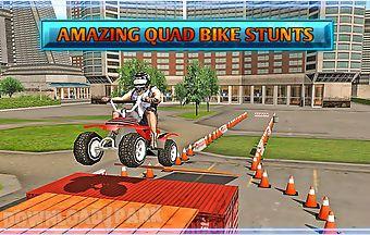 Quad bike escape driving