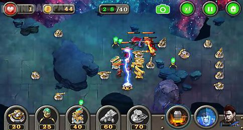 tower defense: galaxy td