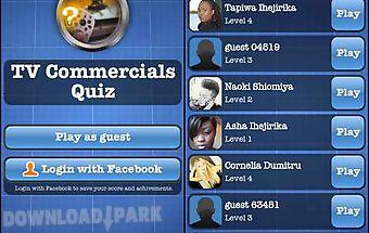 Tv commercials quiz free
