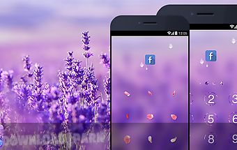 Applock theme - lavender