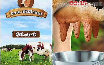 Cow milk game-free