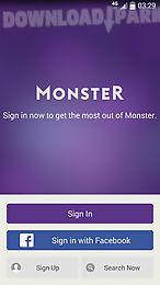 monster job search