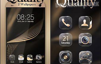 Quality go launcher theme