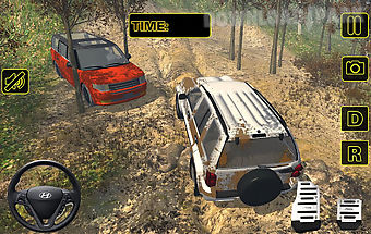 Extreme off road suv adventure