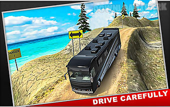 Hill drive bus simulator 2016