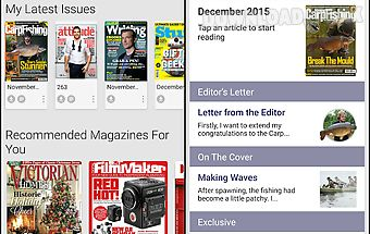 Pocketmags magazine newsstand