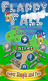 flappy fall save the clumsy chicken from splashing