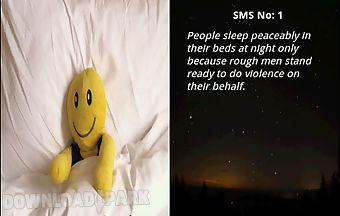 Good night sms app