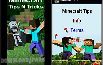 Minecraft tips n tricks