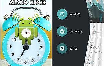 Morning routine: alarm clock
