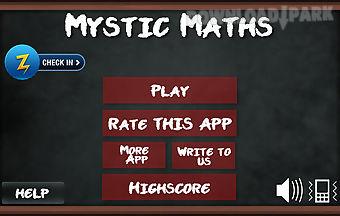 Mystic maths logic block