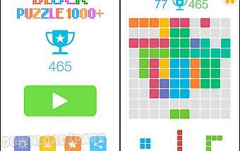 Block puzzle 1000+