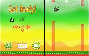 Flappy weed - marijuana jumper