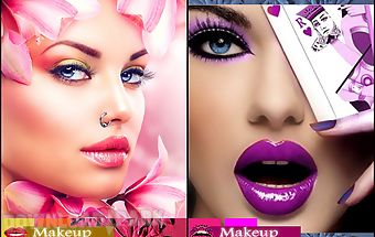 Hairstyle beauty face makeover